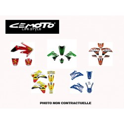 CEMOTO KIT DECO UNIVERSEL ROUGE