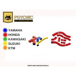 KIT DE DURITES DE RADIATEUR ORANGE PSYCHIC KTM SX 65 2002/2008