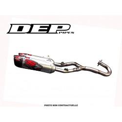 LIGNE COMPLETE DEP DOUBLE SORTIE 250 CRF 2014  S7R CARBON TIP CAN FS