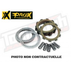 Kit disques lisses d'embrayage Prox XR600R '85-00 + XR650R '00-07