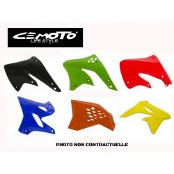 CEMOTO HONDA OUIES DE RADIATEURS 125 CR 93-97 + 250 CR 92-96 NOIRS